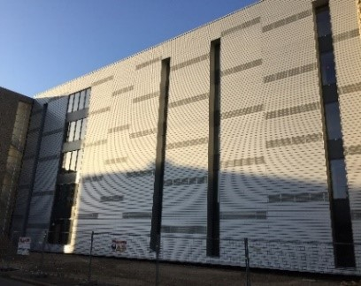 Lycée Alfred Mézières à LONGWY – ITE + Bardage : Programme neuf + Rénovation