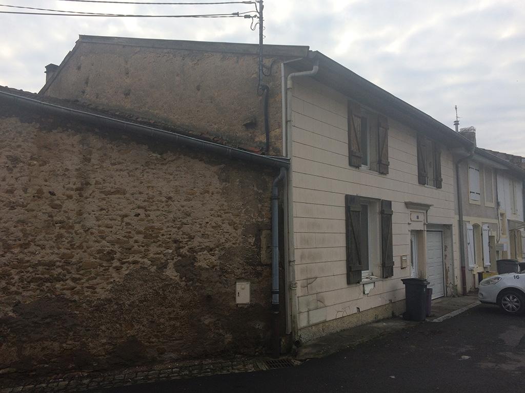 avant renovation - pro façade - professionnel de la façade Metz
